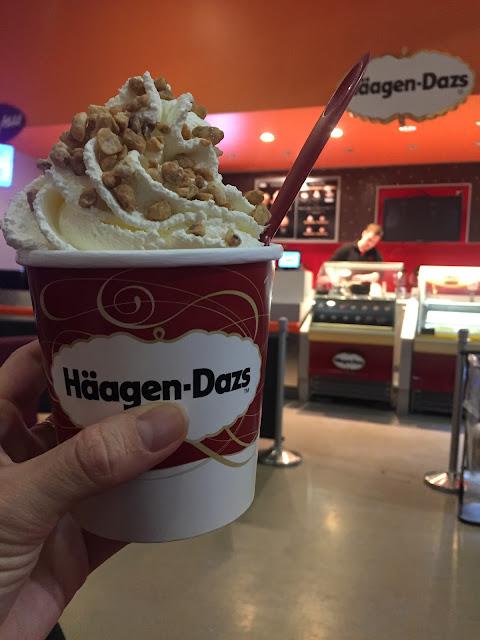 glace haagen-dazs les petites bulles de ma vie