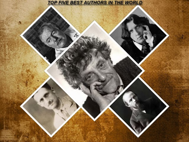 TOP FIVE BEST AUTHORS IN THE WORLD