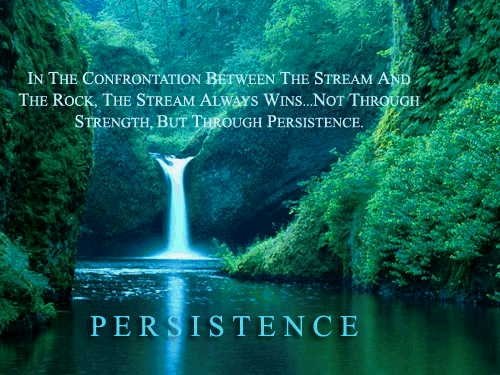 Persistence Motivational Quotes: Persistence And Consistency