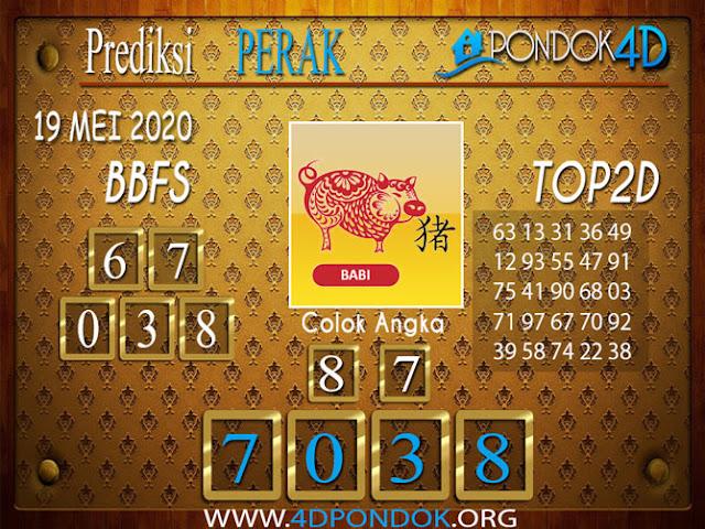 Prediksi Togel PERAK PONDOK4D 19 MEI 2020