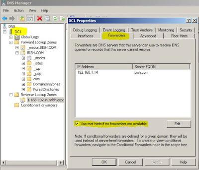 DNS Forwarders