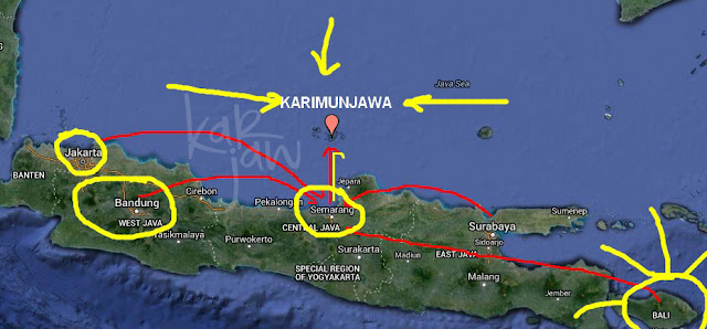 karimunjawa how to get here