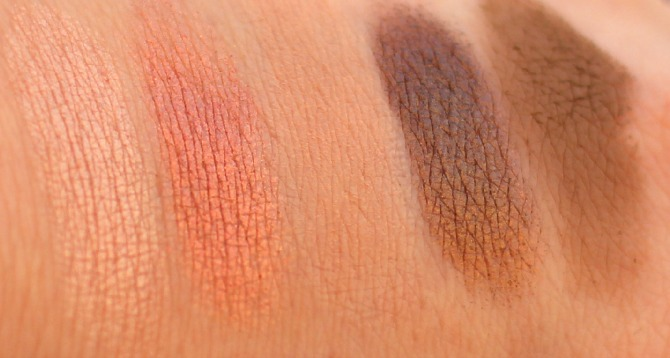 Bottom row of the UD Vice 2 palette swatched