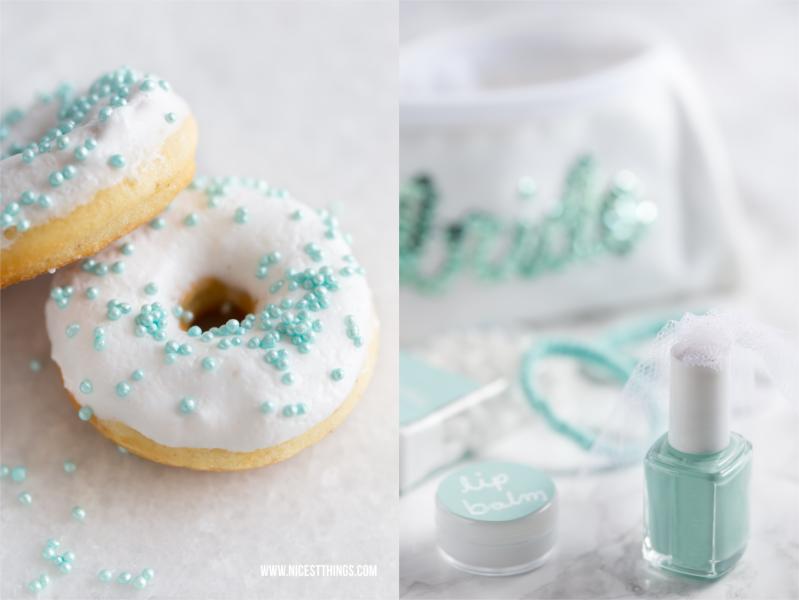 Junggesellenabschied Geschenk Donuts Mint Notfall Set Tasche Survival Kit
