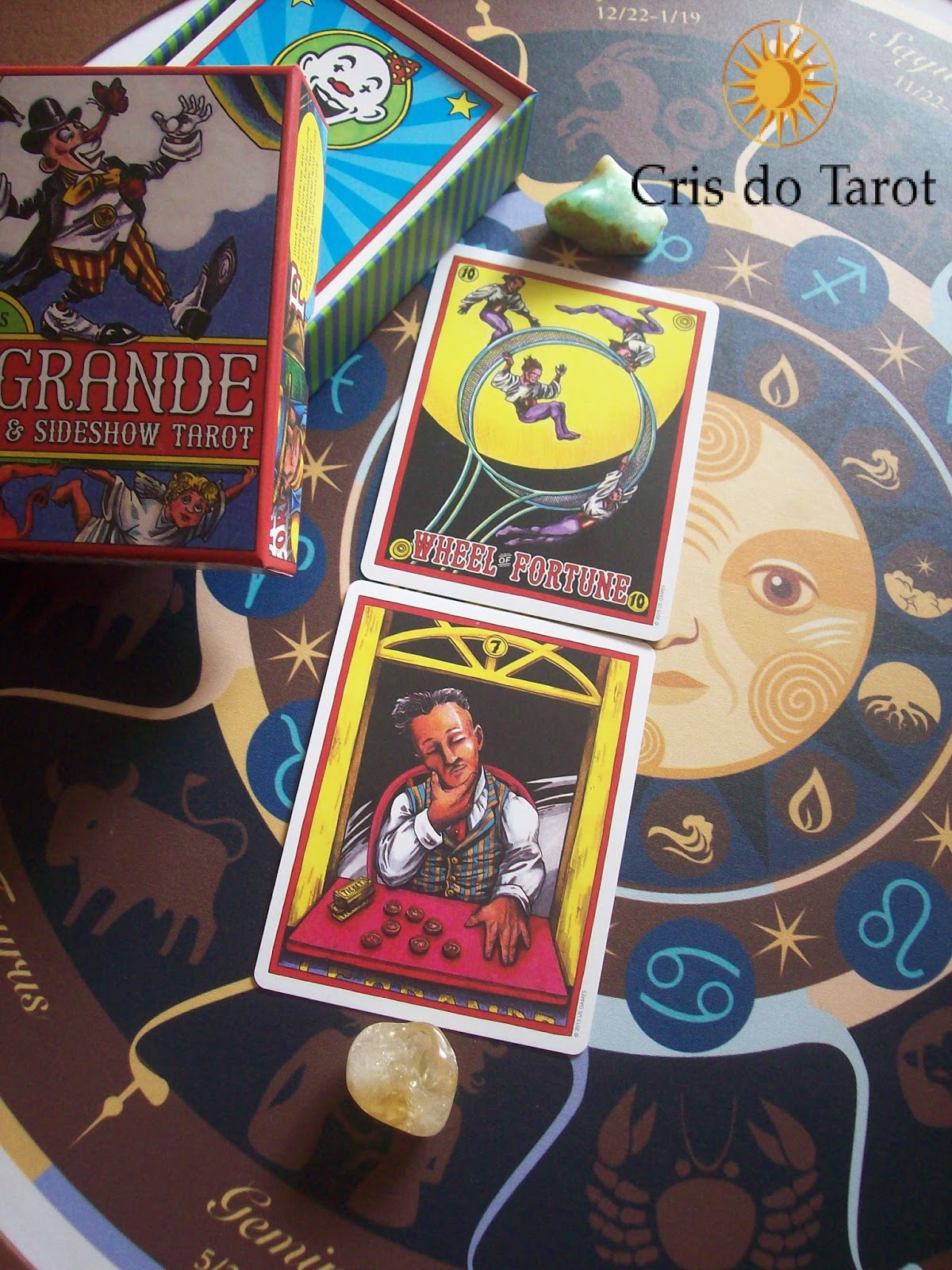 CRIS DO TAROT: Recompensa