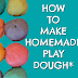 Play Dough Making at Home With And Without Heat in Just Two Simple Steps