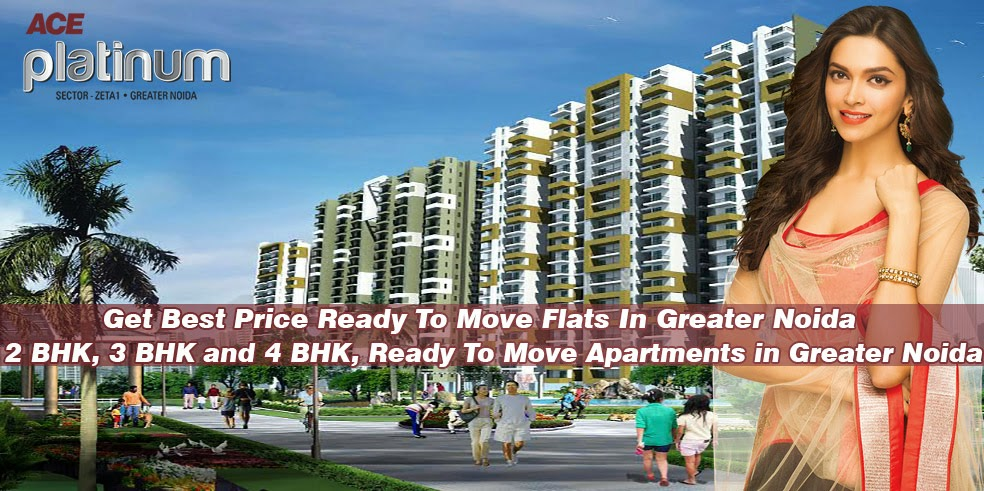 Ace Group - Ace Group India: Get Best Price Ready To Move Flats In