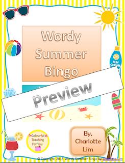 https://www.teacherspayteachers.com/Product/Wordy-Summer-Bingo-3824606