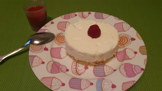 Cheese-cake leger au citron sans cuisson