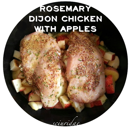 Rosemary Dijon Chicken with Apples (Primal/Paleo)