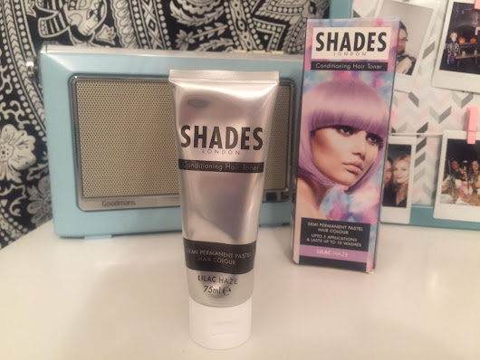 Shades London Hair Toner - Lilac Haze