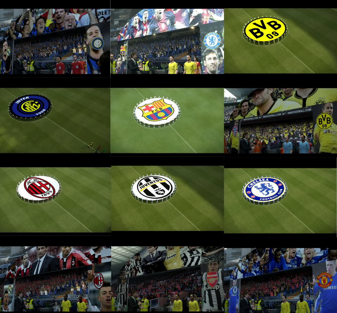 Download Mega Cinematic Entrance PES 2013