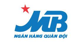 Logo ngân hàng MB vector
