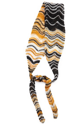 missoni headband knit fall wool
