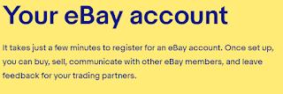 eBayالتسجيل في