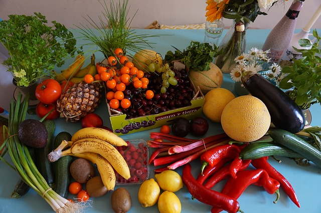 Veggies And Fruits