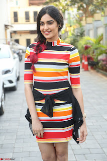 Adha Sharma in a Cute Colorful Jumpsuit Styled By Manasi Aggarwal Promoting movie Commando 2 (5).JPG