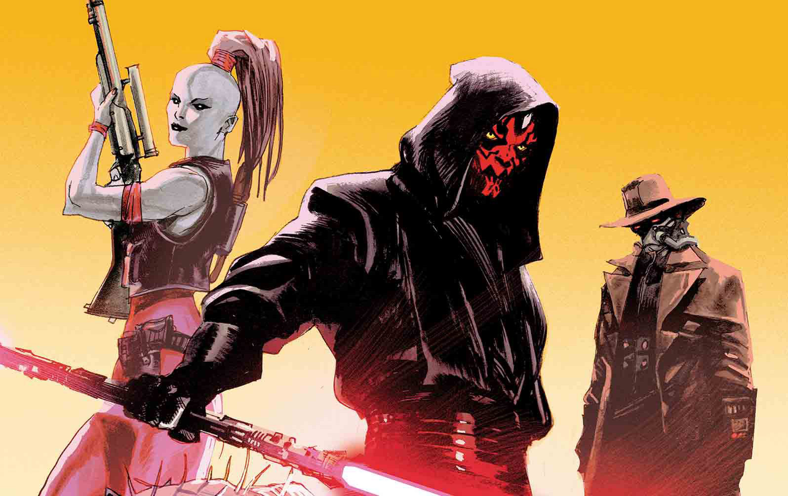 Image result for maul and aurra sing