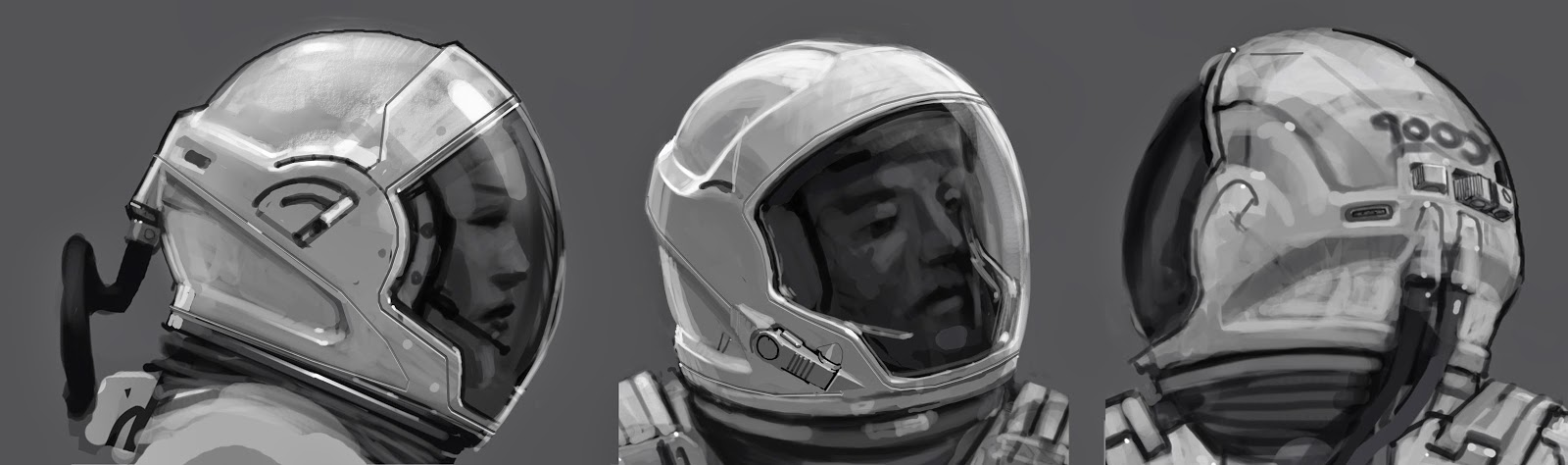 Concept Space Suit Helmet - Pics about space
