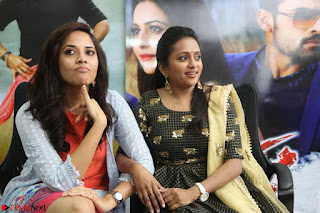 Actress Suma in Black Salwar Suit and Anusuya in orange Dress at winner movie press meet part 2 February 2017 (83).JPG