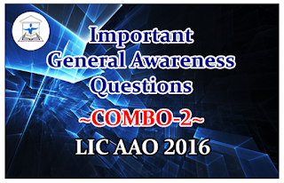 "Important General Awareness Questions ""Combo"