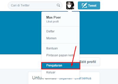 Cara Mengganti ID atau Nama pengguna Twitter 2