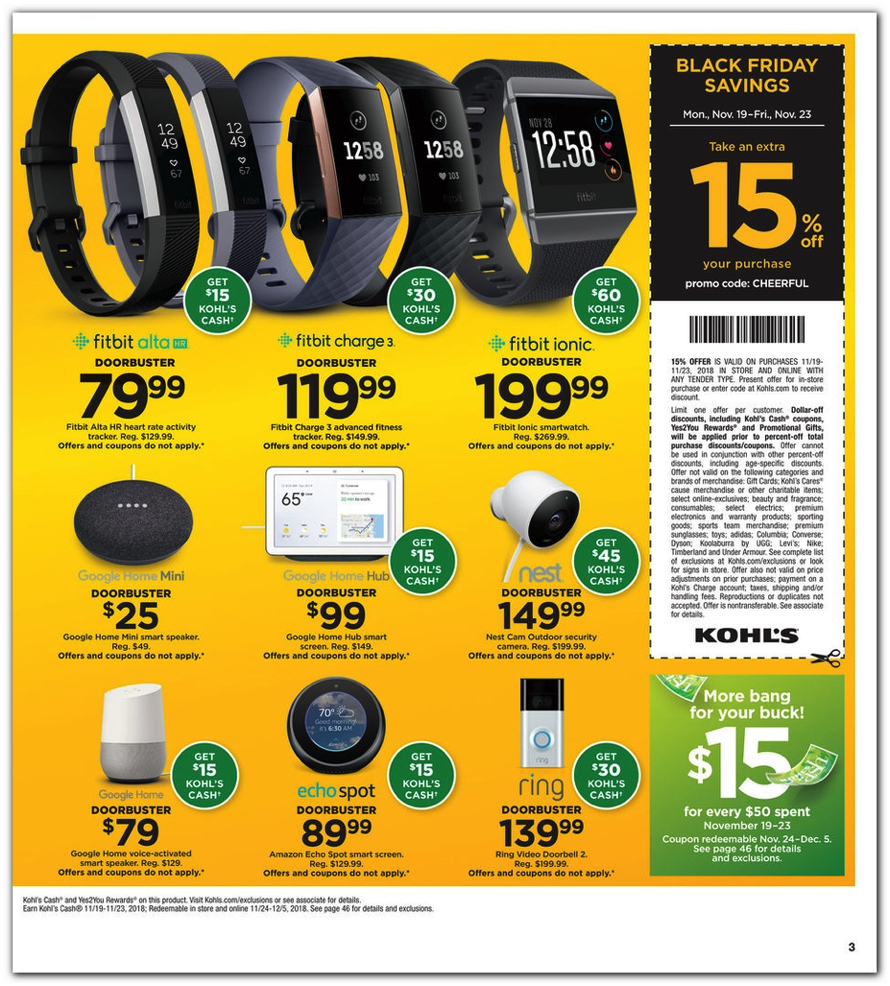 5e80dcf25f5d Microsoft Xbox One X PlayerUnknown s Battleground bundle +  120 Kohl s Cash  for  399.99 (reg.  529.99). Kohl s Black Friday 2018 advert