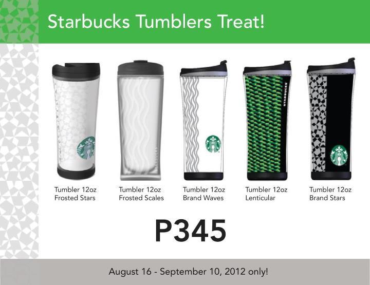 Want A Starbucks Tumbler