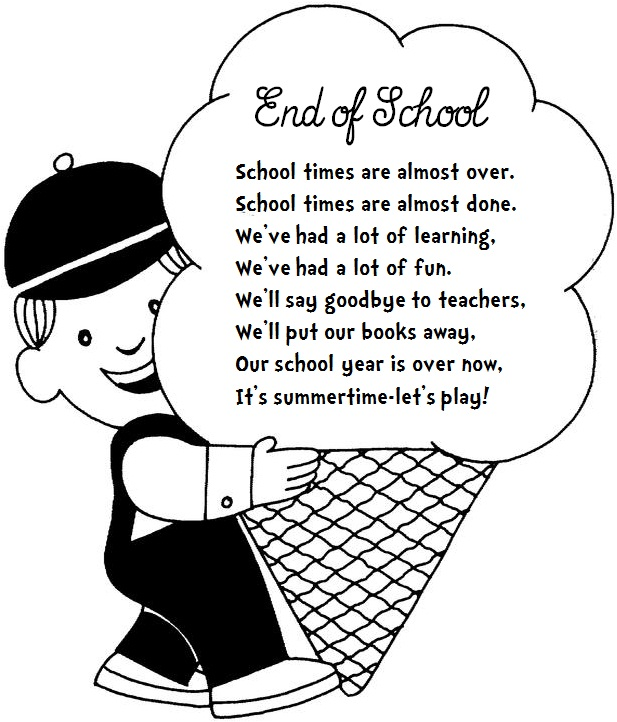 Enjoy Teaching English: END OF SCHOOL (poem)