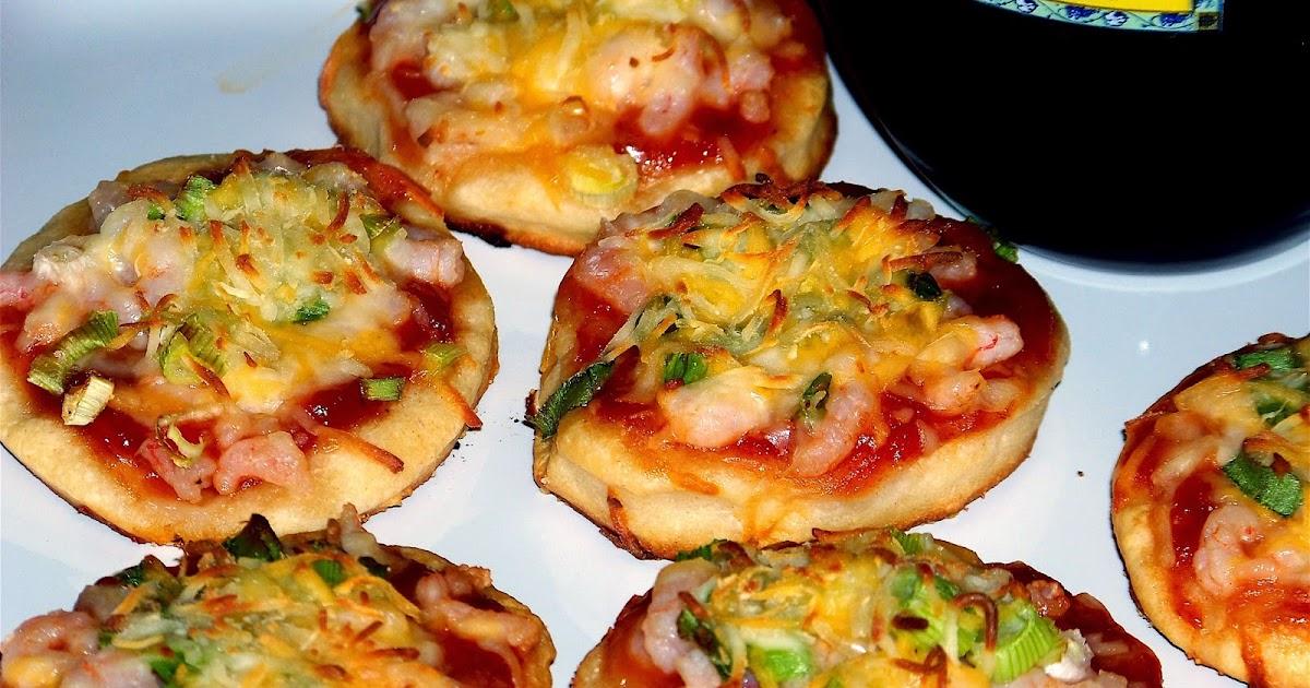 Resep dan Cara membuat Pizza Mini Tanpa Oven - PosResep