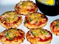 Resep dan Cara membuat Pizza Mini Tanpa Oven