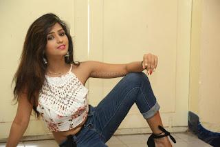 Deekshita Parvathi in a short crop top and Denim Jeans Spicy Pics Beautiful Actress Deekshita Parvathi January 2017 CelebxNext (161).JPG