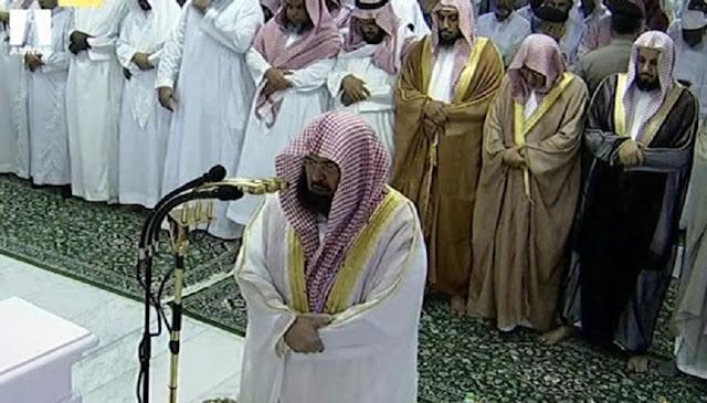 Imam Besar Masjidil Haram Menangis dan Minta Jamaah Bertaubat Saat Mendengar Hp Berbunyi Saat Shalat