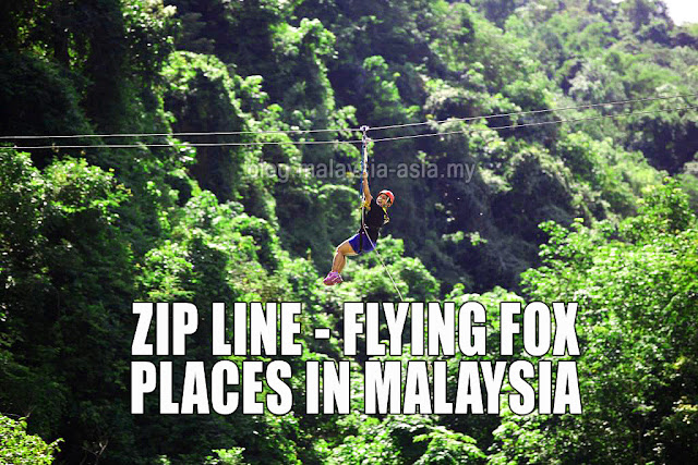Malaysia Zip Line Flying Fox Places