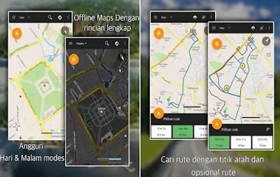 GPS Driving Rute