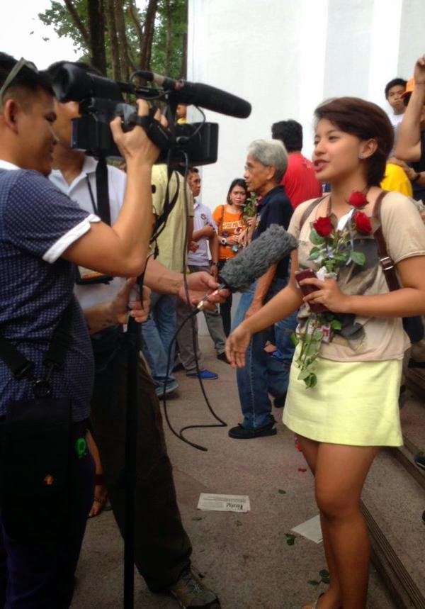 Katrina Lorraine Tapia, the luckiest girl at the UP