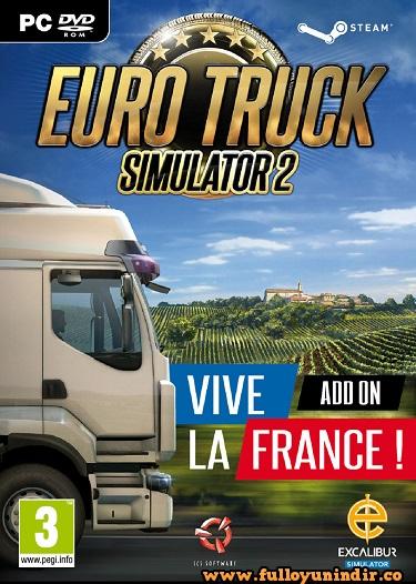 Euro Truck Simulator 2 Vive la France SKIDROW Tek Link