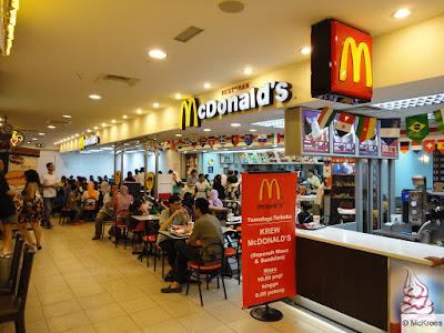 McDonald's the ultimate food destination