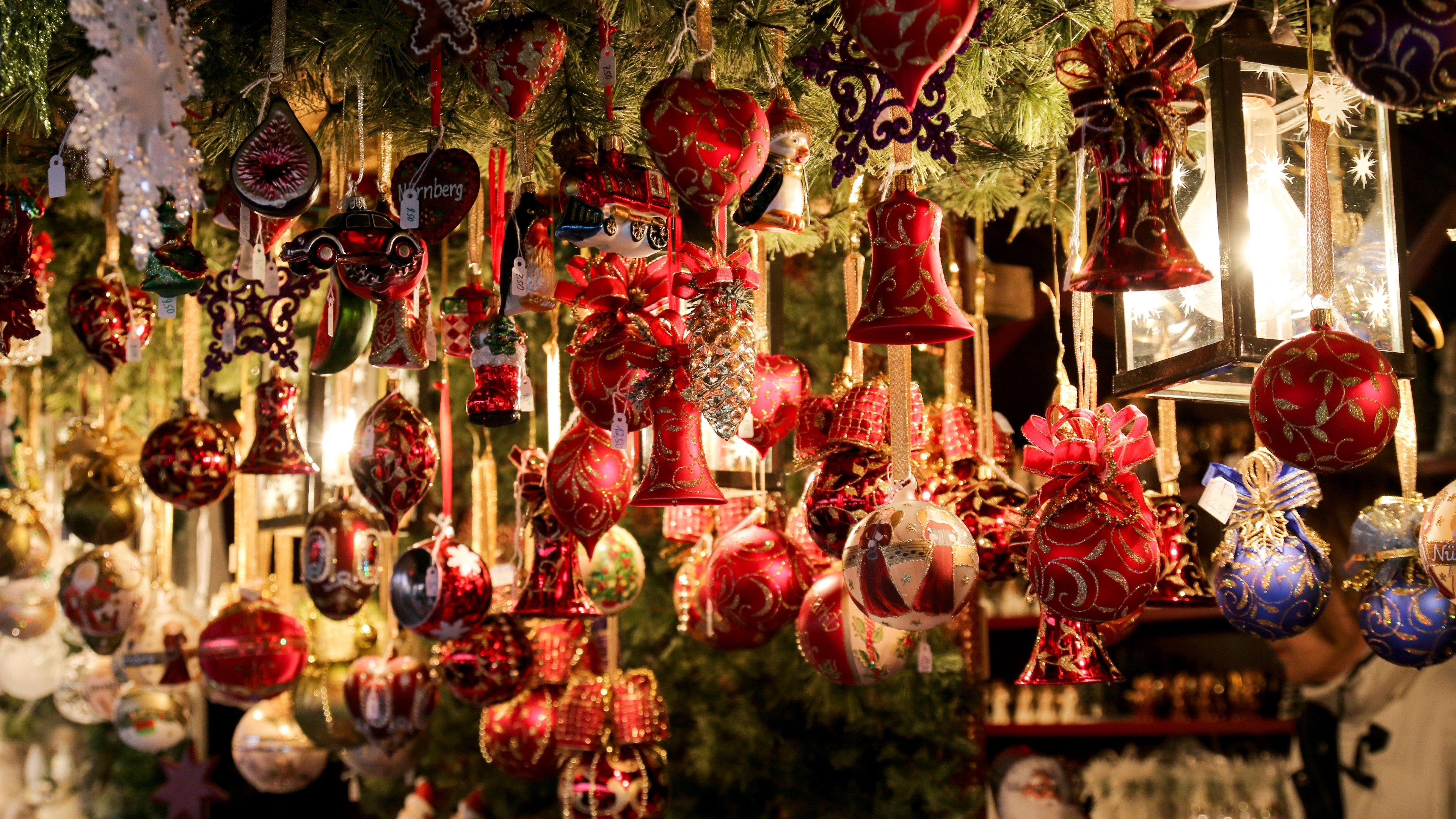 Welcome to Christmas Market | HD Wallpapers · 4K