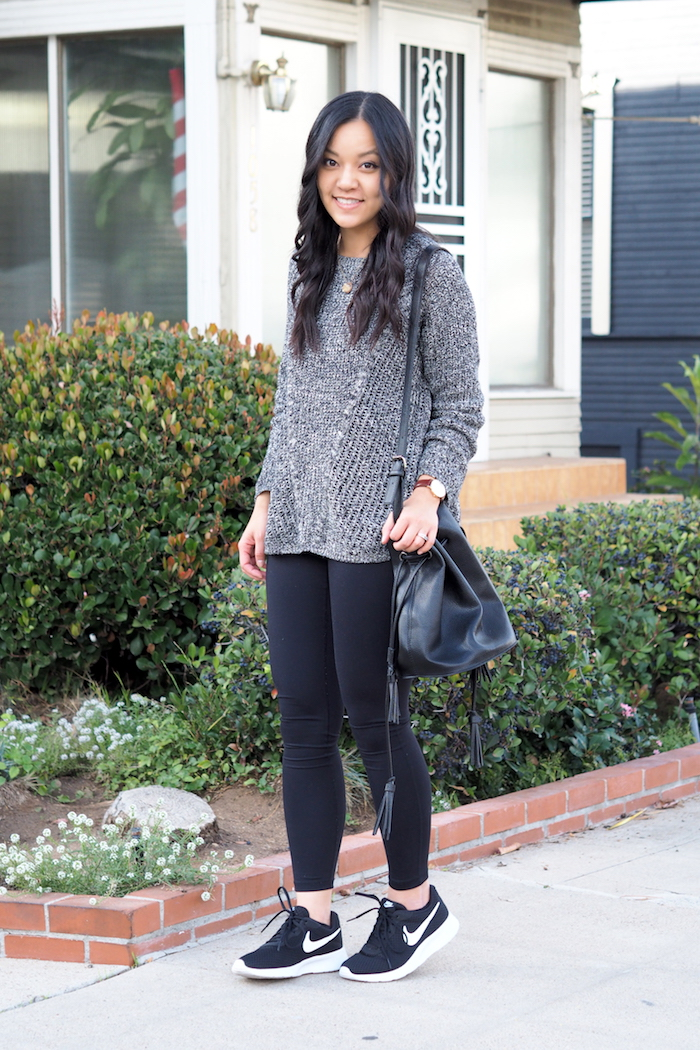 plain black sneakers outfit shoes