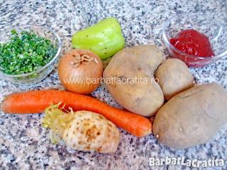 Ciorba de cartofi ingredientele necesare retetei