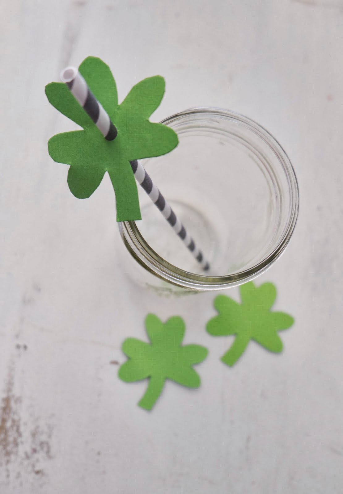 Saint Patrick's Day Straws