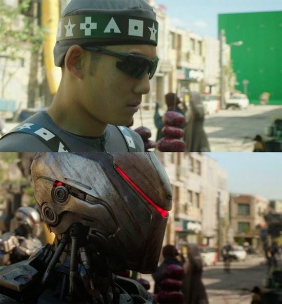 RoboCop efeitos especiais