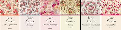 Znalezione obrazy dla zapytania jane austen seria książek