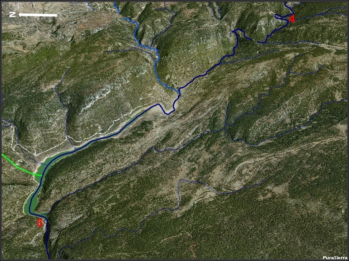 El Río Cuervo a vista de pájaro (imagen 5)