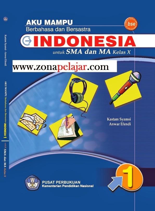 materi bahasa indonesia SMA, kelas X semester 1 dan 2