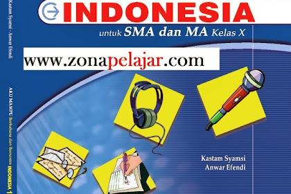 Materi Bahasa Indonesia SMA Kelas X Semester 1 dan 2