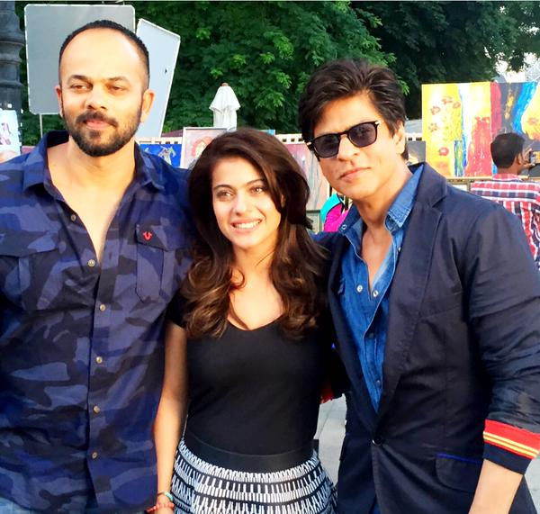 Download Song Gerua Of Dilwale: Dilwale Movie 2015 HD Wallpaper Shahrukh Khan