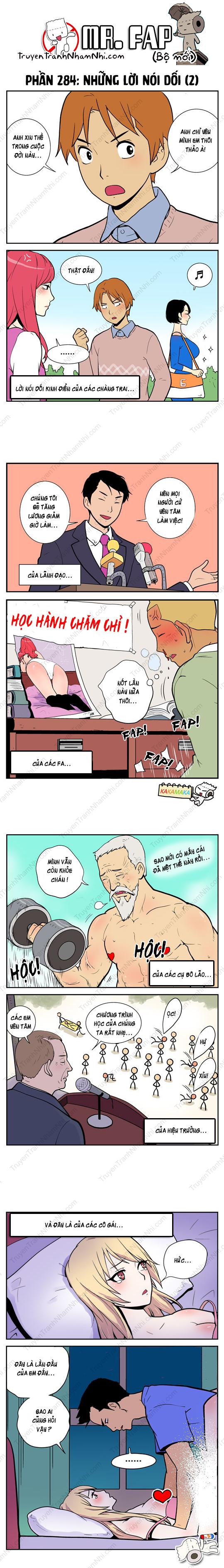 Mr. FAP (bộ mới) phần 284: Những lời nói dối (2)