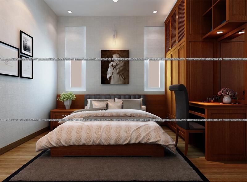 Mẫu thiết kế nội thất phòng ngủ đẹp anh Đăng - chị Thu Ngân Q.2 Phong-ngu-ong-ba-1